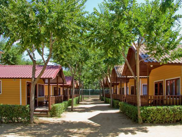 Chalet Camping Solmar