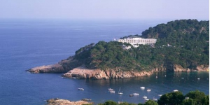 Overlooking the sea on the rocky Costa Brava coastline, the Parador de Aiguablava is surrounded by pine trees. The rooms offer wonderful sea views and there is an outdoor pool.