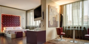 Carlemany Girona is ideally situated less than half a mile from the historic Barri Vell district and a quarter mile from Girona Train and Bus Station. Rooms feature 32-inch flat-screen TVs and free Wi-Fi.