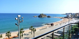 Aiguaneu Sa Marina offers fully equipped apartments with free WiFi, air conditioning and a balcony. Located in Blanes, the apartments are just 60 metres from the beach.