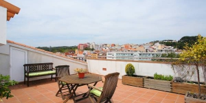 Apartment Soho is a self-catering accommodation located in Blanes. WiFi access is available.