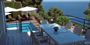 Located in Blanes, Villa in Blanes offers an outdoor pool and a tennis court. This self-catering accommodation features free WiFi.
