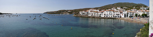 Cadaqués Beach and harbour