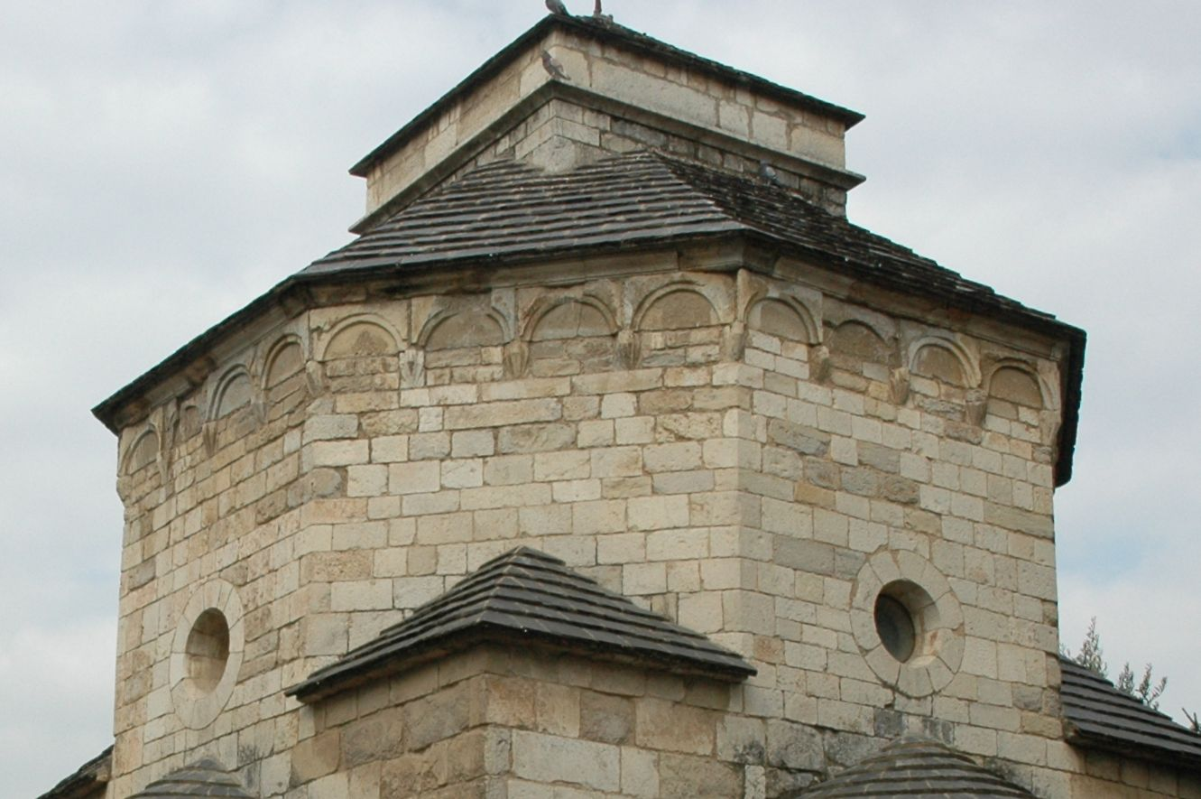 Dome base over Sant Nicolau church, in Girona