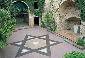 Bonastruc Sa Porta Center Museum, Call, Jewish quarter, in Girona