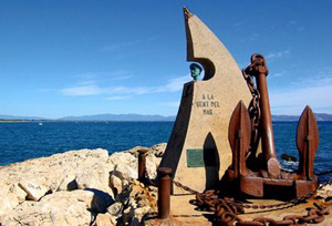 Monument to the sea workers, l'Escala